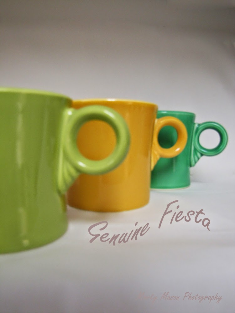 Genuine Fiesta coffee mugs