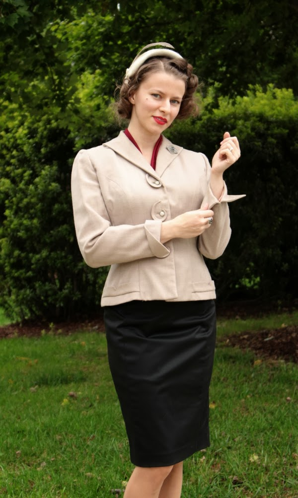 Sharply Dress In Vintage #1940s #fashion #vintage #style #suit