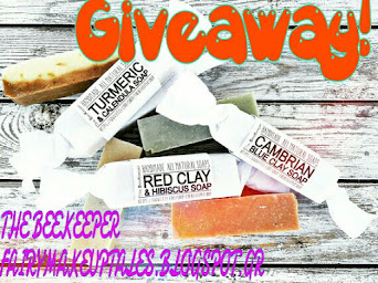 Win a set of handmade soaps!