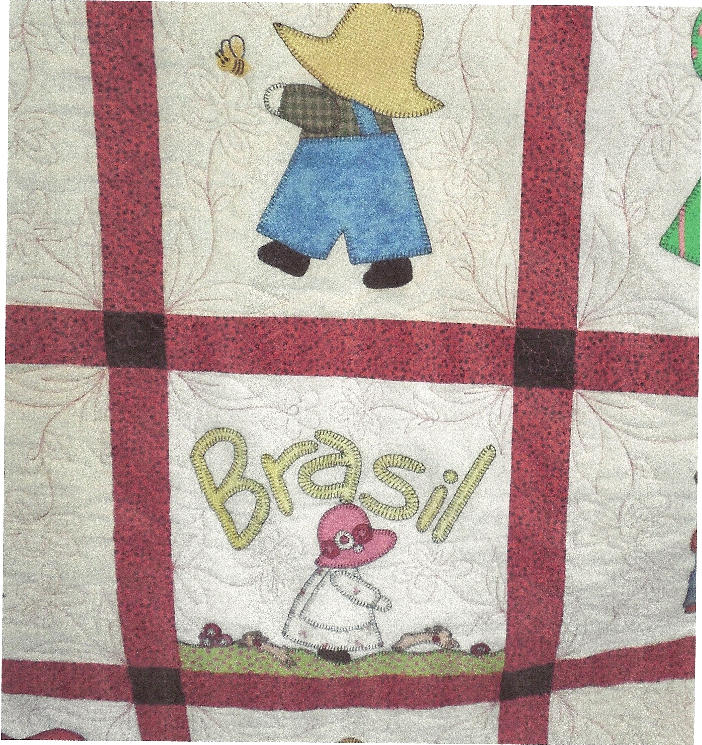 Want to discuss how i approach my own quilting