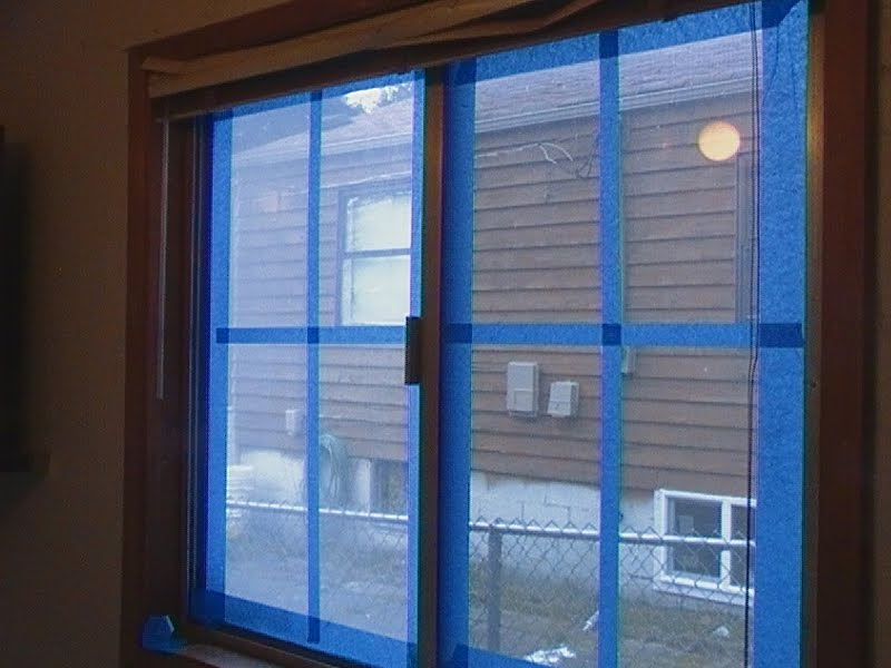 Robs World Frosted Window Panes