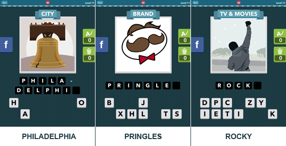 Icomania Level 11: cheats, hints, oplossingen en antwoorden