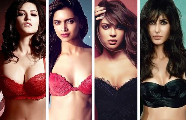 Deepika, Priyanka, Katrina, Sunny- Bold Babes Of Bollywood 2013!