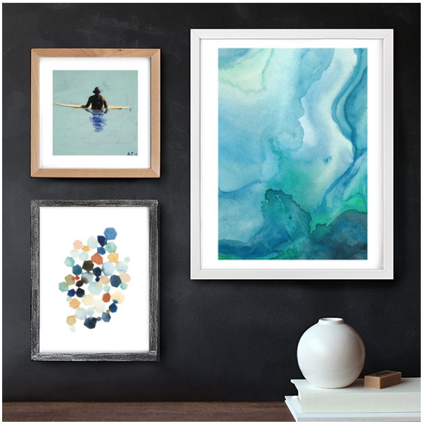 just the bee's knees ~ Curate your own gallery wall with these cool tools!