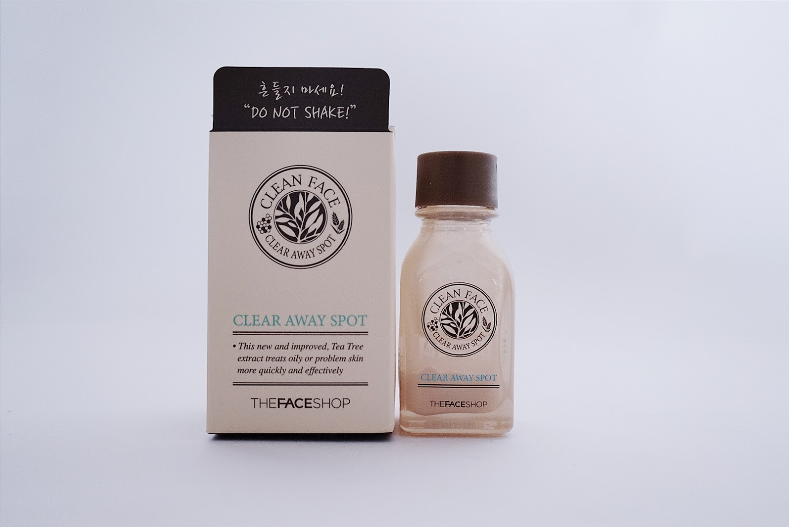 Clean face the face shop review