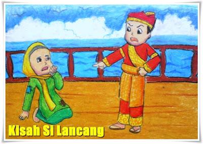 Kisah Si Lancang Dari Daerah Riau