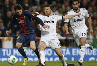 Video dan Hasil Pertandingan Real Madrid vs Barcelona  31 Januari  2013