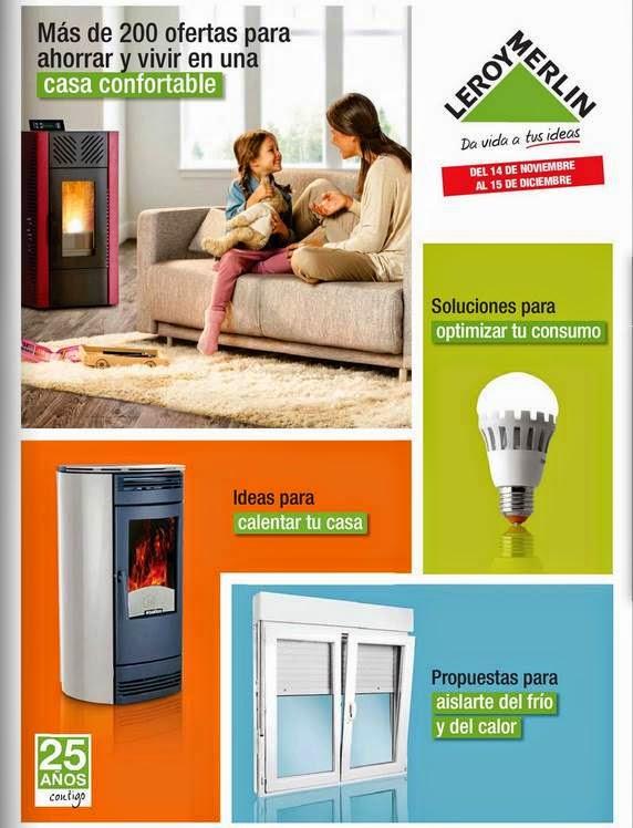 200 ofertas de leroy merlin en casa confortable for Estufas de lena leroy merlin 2014