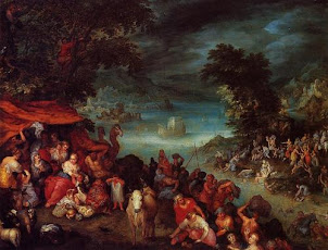 The Flood with Noah's Ark (1603)