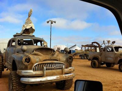 Mad Max Fury Road detrás de las cámaras