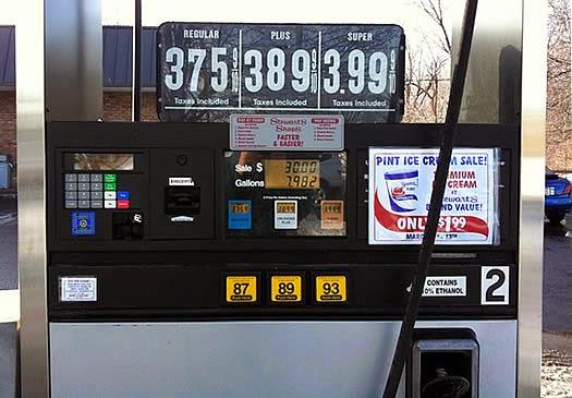 ZIP Code nos postos de gasolina dos EUA