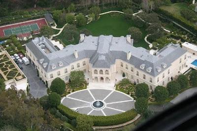 5. Aaron Spelling's Manor ($ 150.000.000)