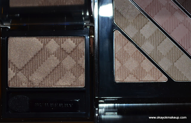 Burberry pale barley single pink taupe quad dupe
