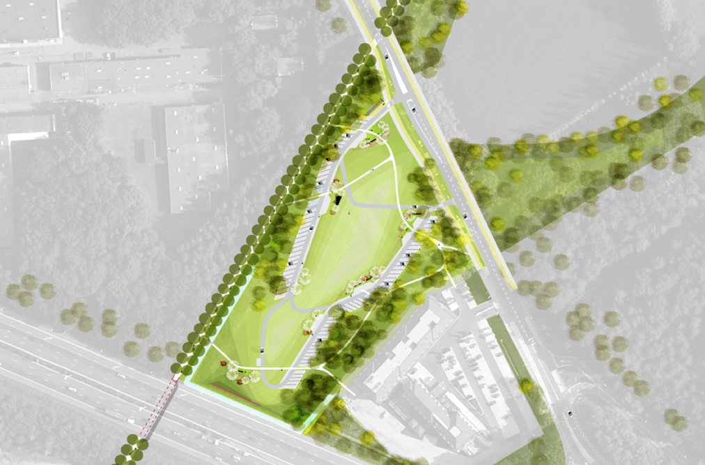 Ecocity publicity mobility 39 park 39 ing oostkamp for Landscape design competition