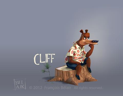 Francois Belair character design