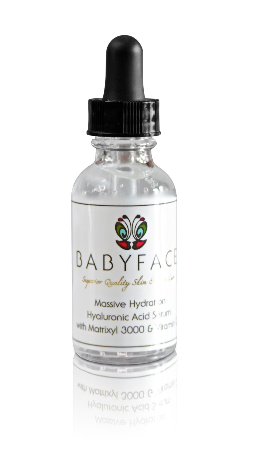 Babyface Massive Hydration, Original Formula Hyaluronic Acid Serum