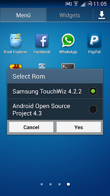 Easy step guide to installing dual boot on your Samsung Galaxy S IV (S4)