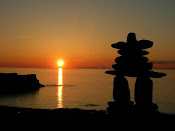 Inukshuk Sunset