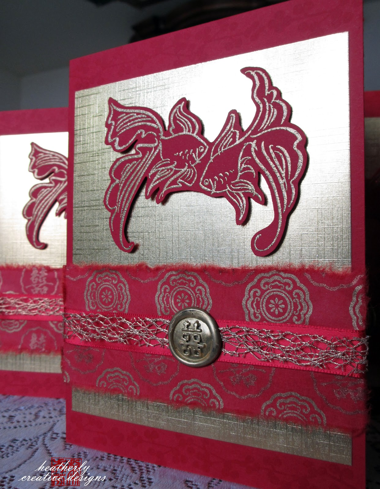 Chinese Wedding Invitations | heatherly creative designs