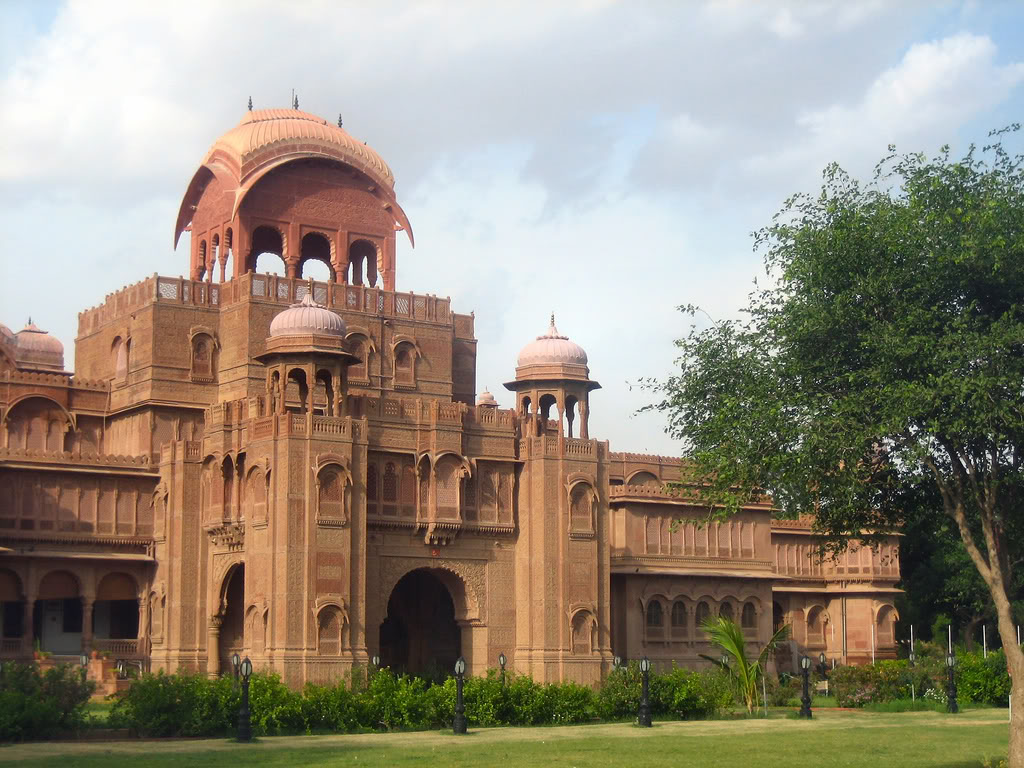 Bikaner India  city images : Lalgarh Palace, Bikaner, Rajasthan ~ Popular Temples of India