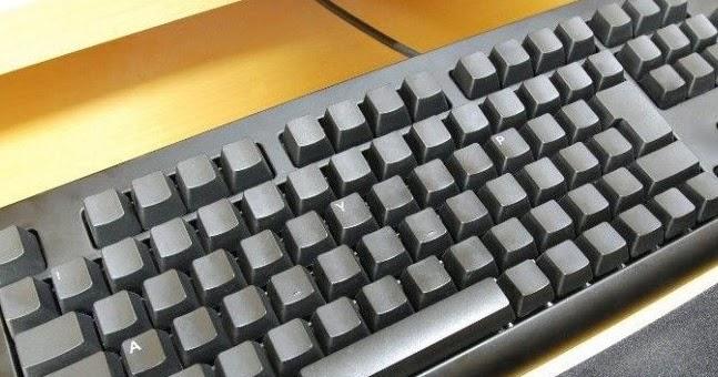 Aparador Madeira ~ Criarte Dicas Restaurar as letras apagadas do teclado