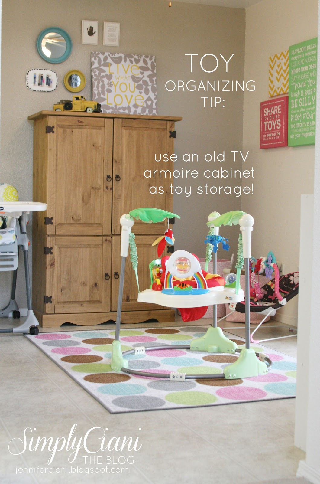 Toy Organization For Living Room Simply Ciani Creative Toy Organization Organizing Solutions