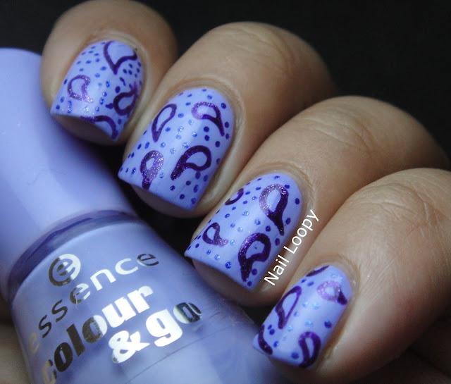 Nail Loopy Gel Pen Paisley Nail Art
