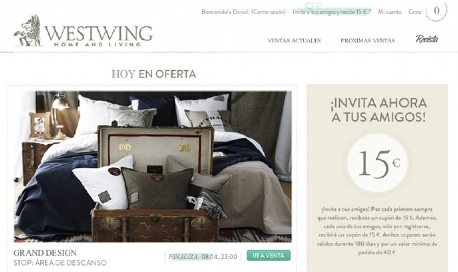 Ecommerce y Marketing: LLega Westwing, la primera tienda \'online\' de ...