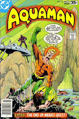 Aquaman v1 #60 dc 1970s bronze age comic book cover art
