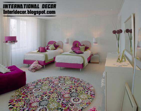 Interior Decor Idea: Teen girls bedroom romantic ideas 2013