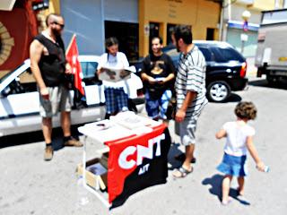 CNT-Mazarrón-mesa informativa
