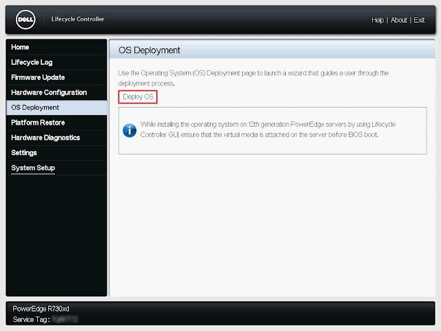 Klikamy Deploy OS