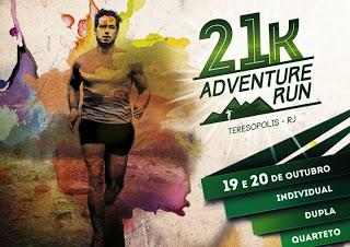 Teresópolis recebe corrida 21K Adventure Run neste fim de semana