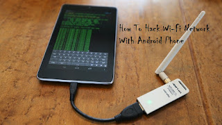 Hack WiFi Network From Android Mobile