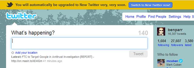 Новый твиттер