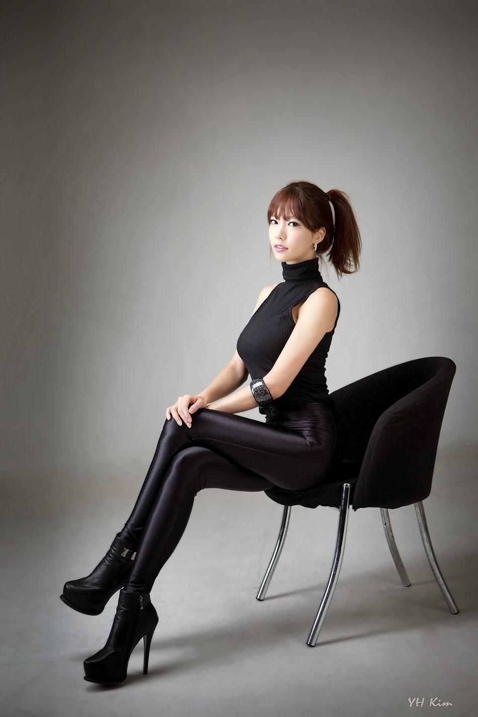 2 Han Min Young - Black lady - very cute asian girl-girlcute4u.blogspot.com
