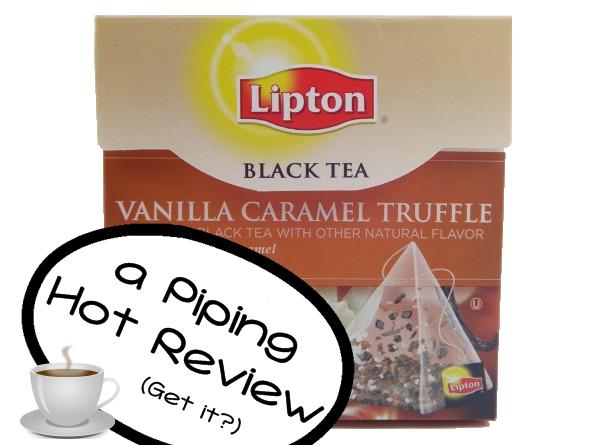 Lipton's Vanilla Caramel Truffle Black Tea — a Modern Mrs.