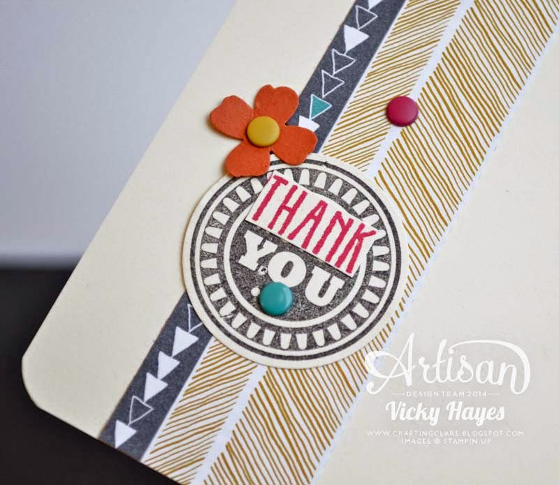 Tips for choosing accent colours for your gifts and cards from UK Stampin' Up demonstrator Vicky Hayes