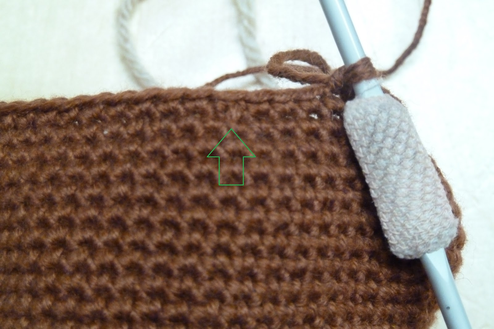 Crochet Stitches Dc2tog : Keeping Mama Sanchez busy...: Crochet - working doubles in continuous ...