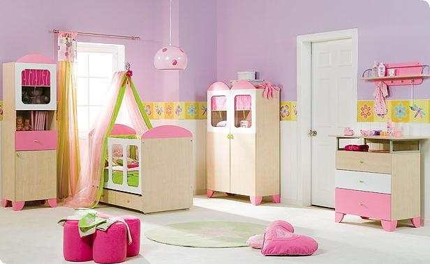 Gravidez e rec m nascido decora o de quarto para meninas for Articulos decoracion habitacion bebe