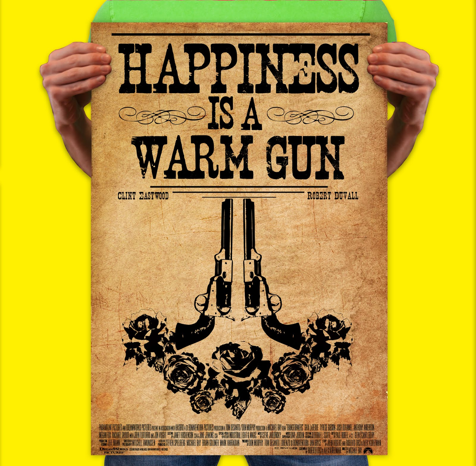Happiness is warm gun lyrics