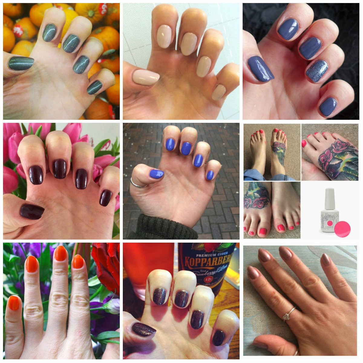 Nail colour Collection