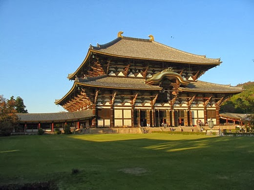 Attractions in Japan must go on. (Part 2) Todaiji Temple