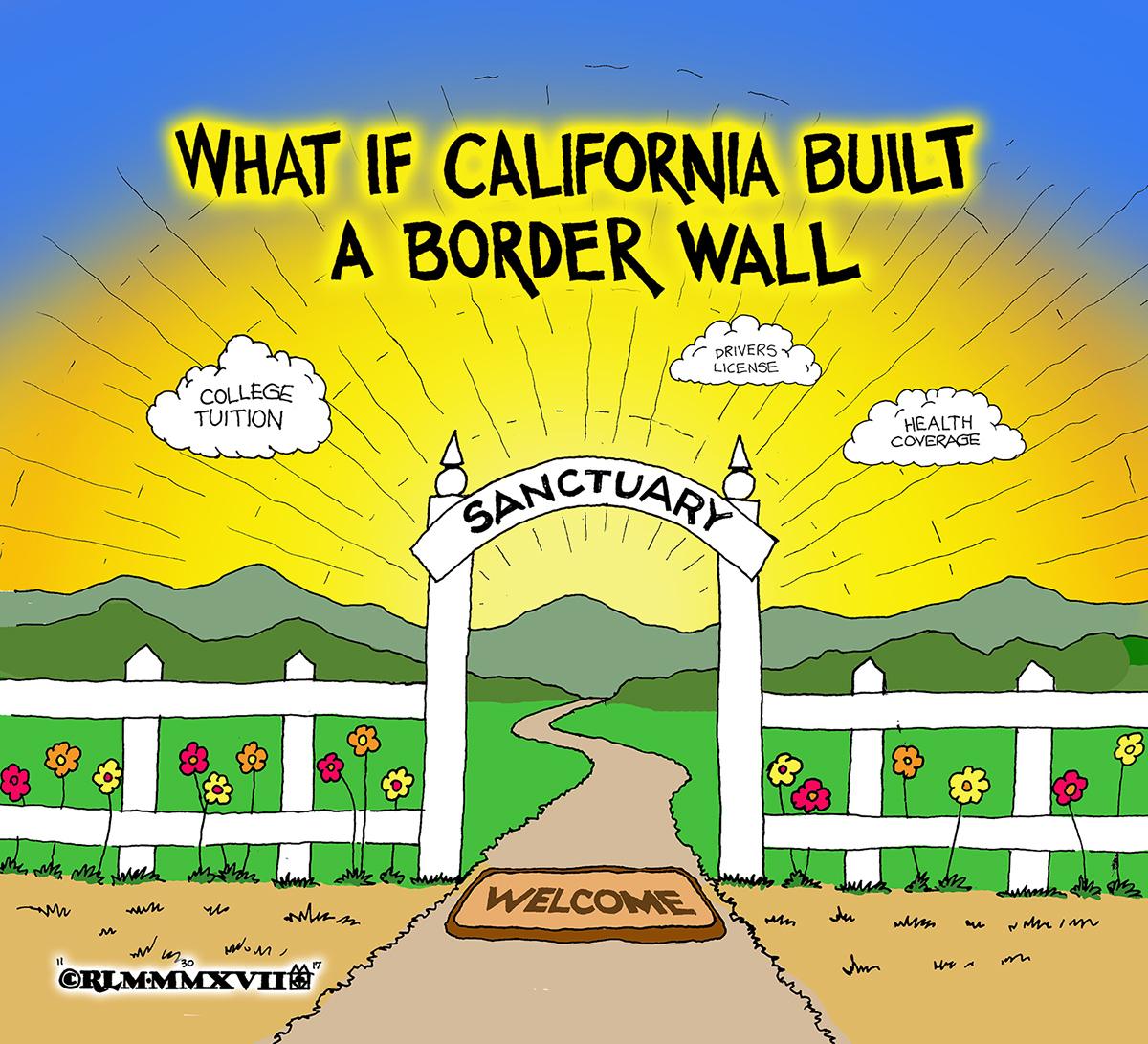 A California-Style Border Wall