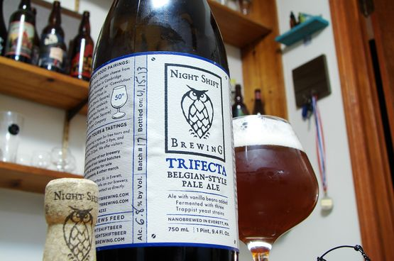 Night Shift Brewing Trifecta Belgian Strong Pale Ale