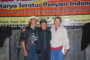 Road Show Puisi Menolak Korupsi I di Blitar