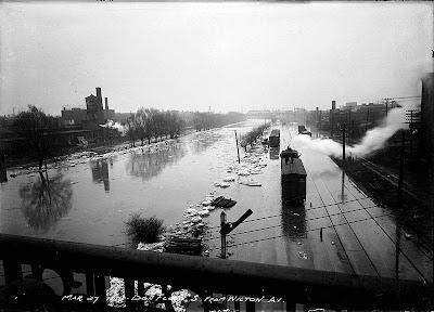 Flooding At Toronto Island