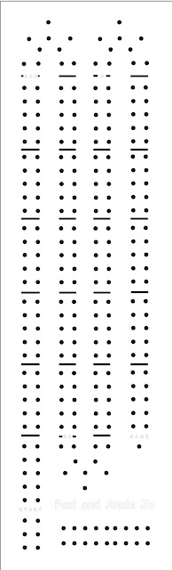 Printable Cribbage Board Hole Patterns - Patterns Kid
