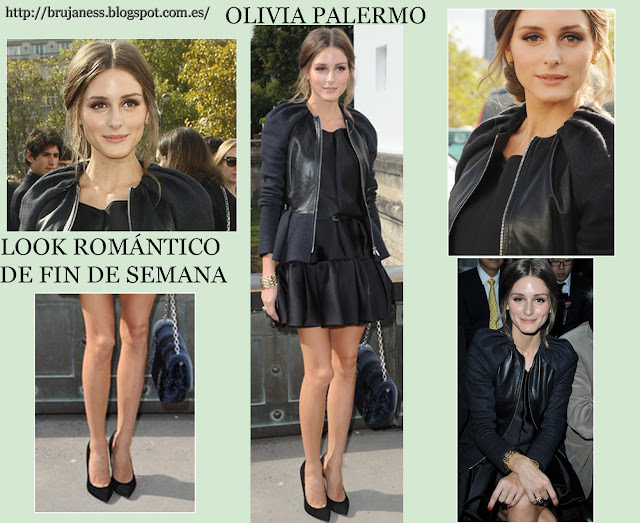 Olivia Palermo en front row del desfile de Dior en la Paris Fashion Week 2012-2013.