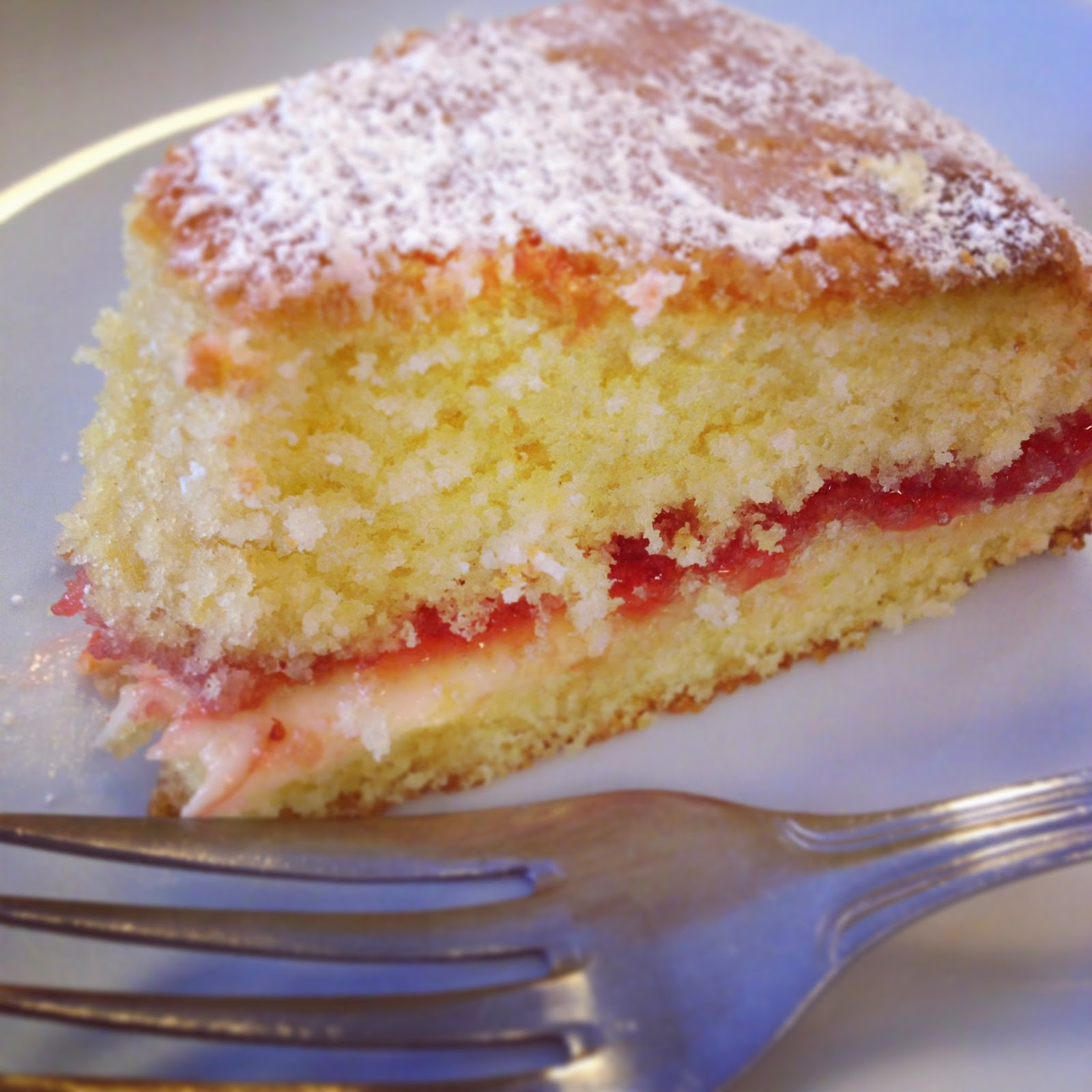 Recipe For Lemon Victoria Sandwich Cake